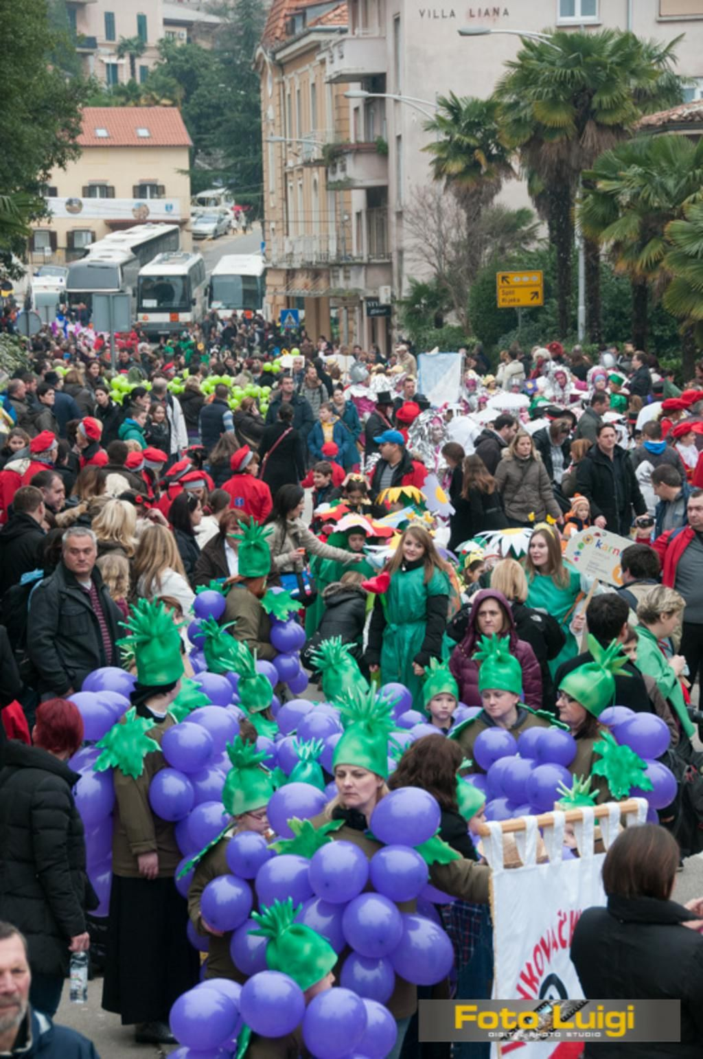 20th Children's Carnival Parade Opatija