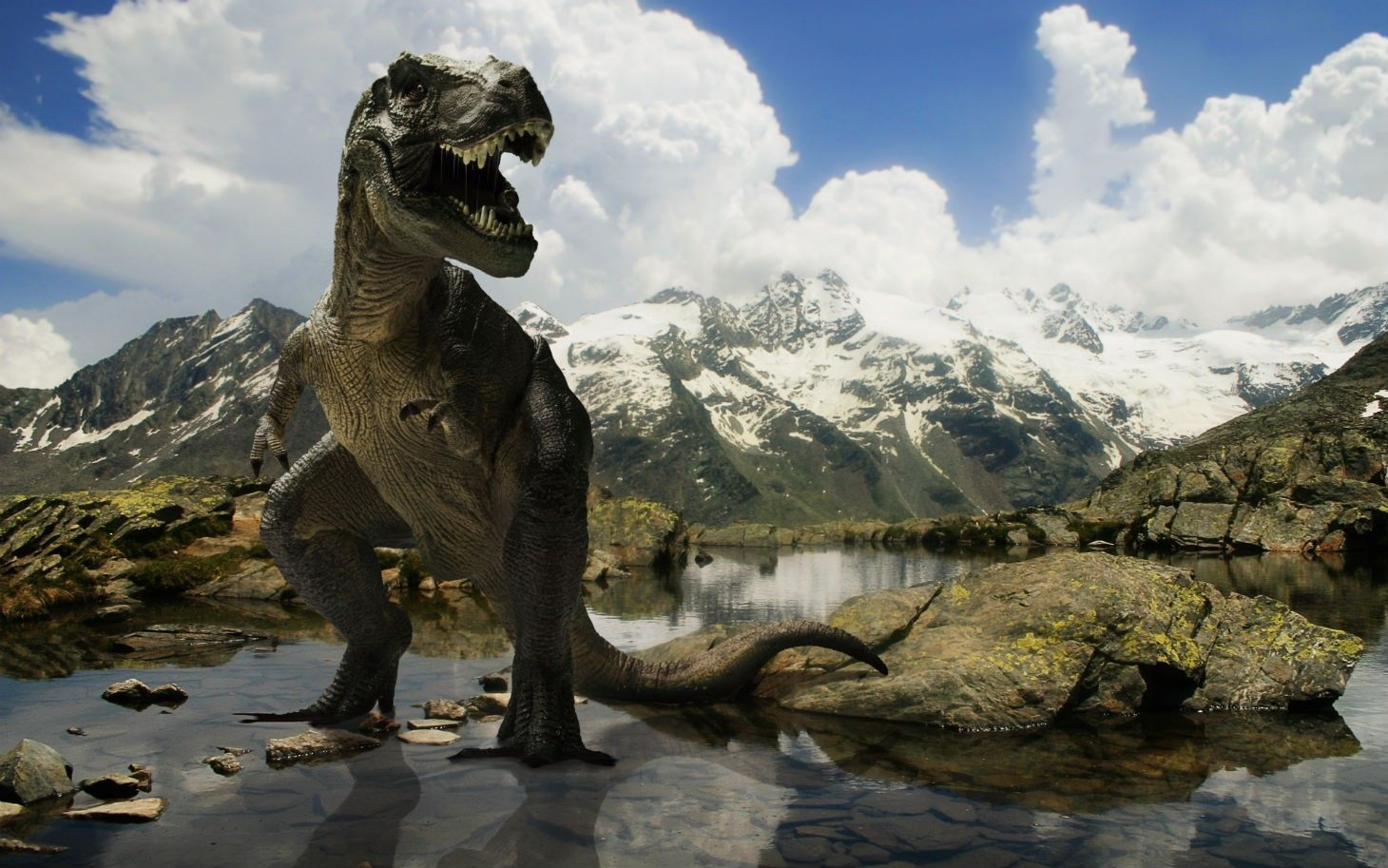 The giants of Patagonia traveling dinosaur exibition in Rijeka