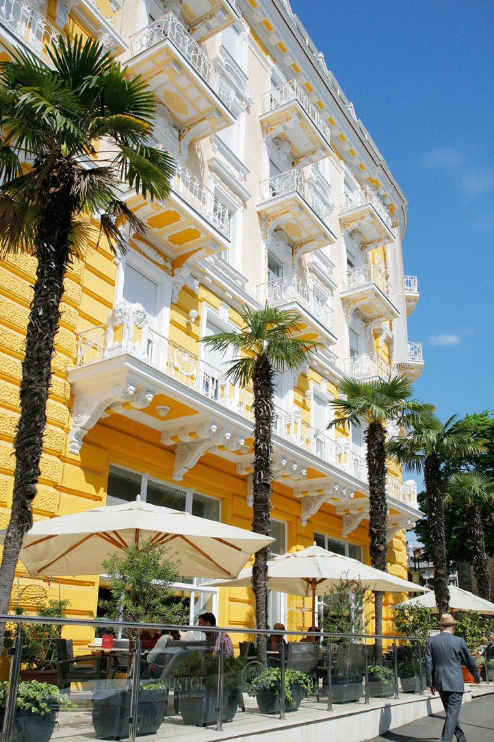 Hotel bristol night in hotel opatija for 2 persons for Sites hotel